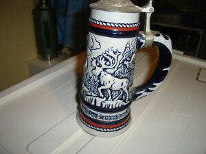 Moose Falcon Goat Condor Golden Eagle Stein