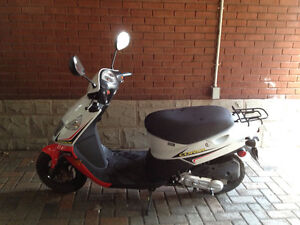 Ready to Ride 50cc Daelim Cordi Scooter For sale