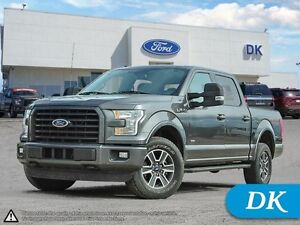 2015 Ford F-150 XLT 302A, Eco  4WD w/Sport Appearance Pkg!