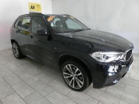 BLACK BMW X5 3.0 XDRIVE30D M SPORT ***FROM £524 PER MONTH***