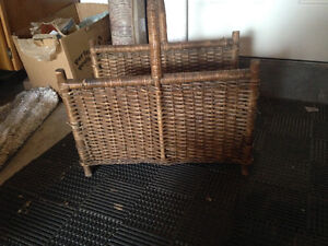 Basket to hold logs / wood