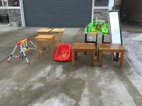 Free tables, baby items, other