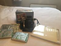 Polaroid Fujifilm camera with 41 films and wedding guestbook