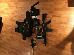 Paintball gun - tippman bravo one