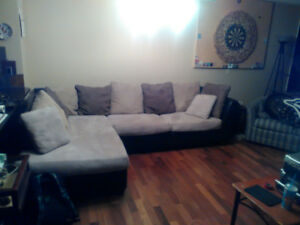 Sectional l couch
