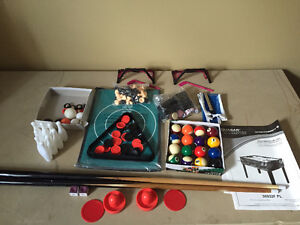 12 in 1 Multi Game Table Pool, Hockey, Fouse ball, Ping Pong etc