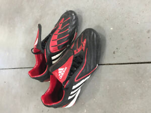 Adidas Indoor Turf Soccer Shoes, size 9.5