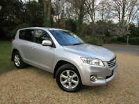 2011 11 Toyota RAV4 2.2 D-4D XT-R 4X4 DIESEL 150 BHP 6 SPEED 88K FSH CHEAP TAX