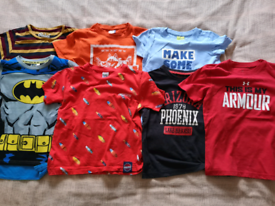 Bundle of clothes for 6-7 years old boy (122 cm)