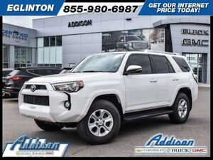 2016 Toyota 4Runner SR5GPS, Leather, Sunroof