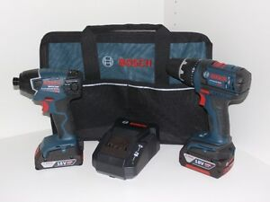 Bosch 18V Cordless Drill/Driver combo kit - Brand New