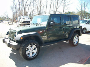 2007 Jeep Wrangler 4x4 UNLIMITED