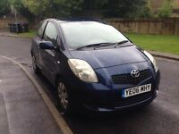 2006 Toyota Yaris D4D 1.4 3DR 1 Owner Full Service History Newer Shape Excellent Car £30 Road Tax