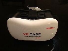 Practical VR 3D video head-mounted glasses.