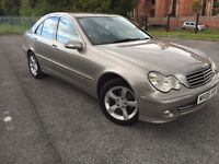Mercedes-Benz C Class Saloon (2004 - 2008) W203 Facelift 1.8 C180 Kompressor Avantgarde SE 4dr