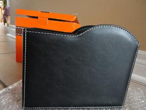 Brand new in box desk organizer clock pen holder album set London Ontario image 10
