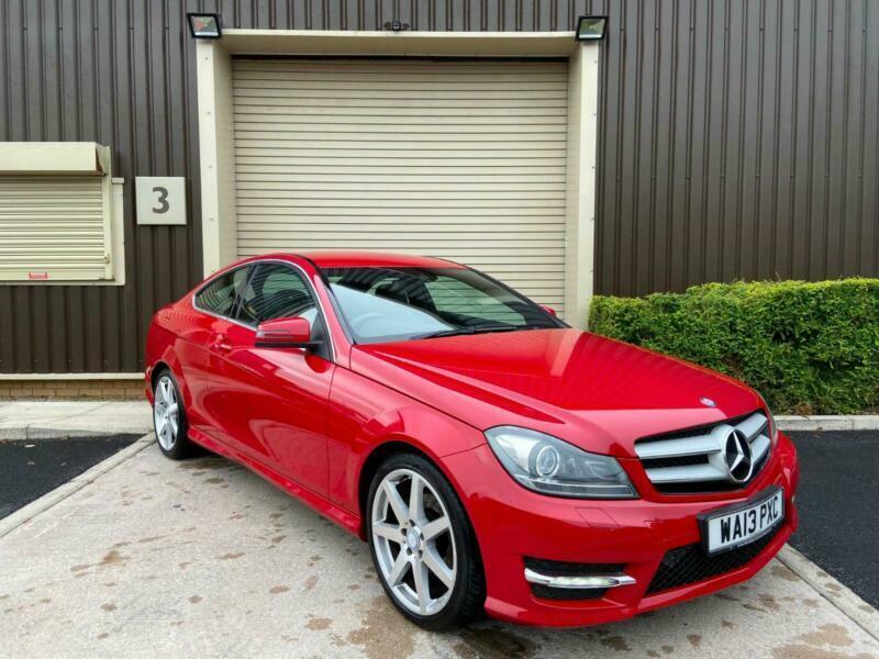 (13) 2013 Mercedes-Benz C220 2.1TD 168bhp COM 7G-Tronic ...