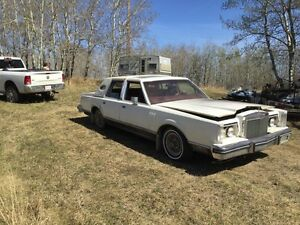 1982 Ford Linclon continental mark 6