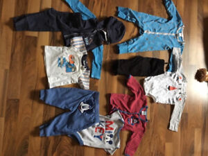 Boys 6-9 month clothing