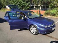 Jaguar X-TYPE 2.0D 2005MY SE. NEW DUEL MASS FLY WHEEL KIT AT 86 K. FULL HISTORY.