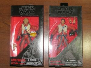 Star Wars Black Series Poe Dameron and Asty Action Figure Lot