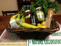 Organic Food Baskets 10 Available Each Week!!