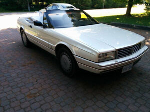PRICE DROP MUST GO White Cadillac Convertible