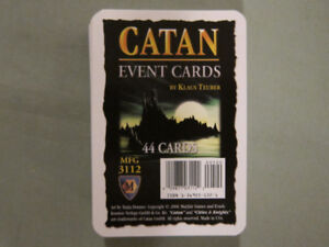 Settlers Of Catan Event Cards