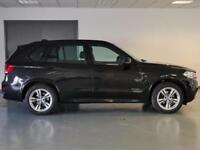 2015 BMW X5 xDrive30d M Sport 5dr Auto [7 Seat] Diesel black Automatic