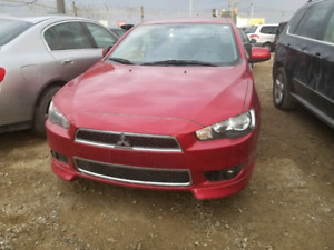 2013 Mitsubishi lancer for parts ONLY