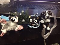 Custom Hand Crafted Pet Holiday Ornaments