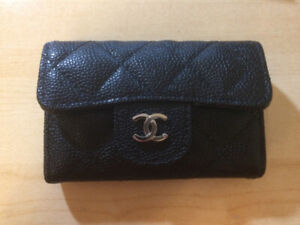 Chanel Card Case, Caviar leather and SHW