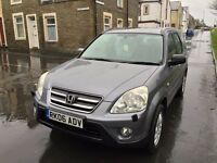 2006 Honda Crv 3 Owners Superb Drive Air Con 6 Speed Manual P/Ex Welcome Sport Model Ready To Go VGC