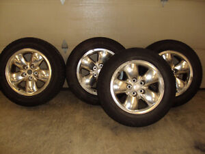 "Price Reduced - 20"" Dodge Rims and Michelin LTX A/T2 Tires"