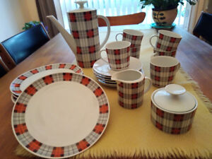 Vintage Winterling Coffee Full Set for 6 Made in Germany