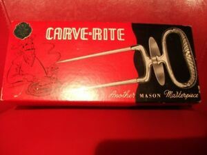 Mason Carve Rite Carving Fork