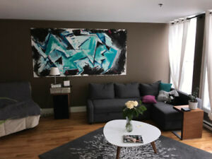 Plateau - 2 Bedroom - Modern/renovated - loft style apartment