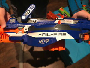 Lot of SIX Nerf toy guns for sale