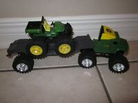 John Deere Semi Monster Treads and Gator, 3 pieces