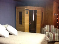 PRIVATE SUITE WITH SAUNA NEAR BEAUMONT