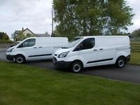 FORD TRANSIT CUSTOM 290 100PS ECOTECH VAN 66 REG 7,500 MILES AND 13,900 MILES