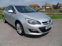 2012 62 VAUXHALL ASTRA 1.6 ELITE 5DR AUTOMATIC 115 BHP SILVER