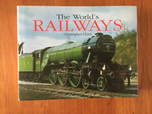 Hardcover- The Worlds Railways by Christopher Chant
