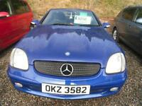 2003 MERCEDES BENZ UNKNOWN SLK 230 KOMPRESSOR VERY LOW MILEAGE 2003 MODEL