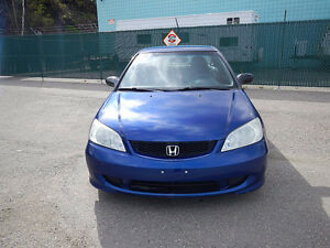 2005 Honda Civic DX Coupe (2 doors)