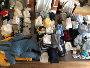 Baby boy clothes from Newborn to 6 months