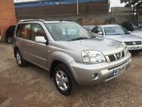 2004 Nissan X-Trail 2.5i Sport Silver, 4-WHEEL DRIVE, **DEPOSIT NOW TAKEN**