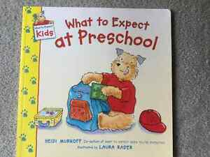 BRAND NEW BOOK - WHAT TO EXPECT AT PRESCHOOL