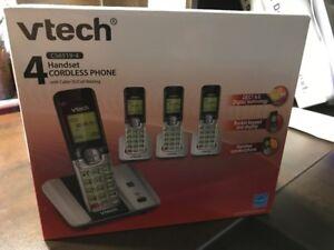Téléphone sans fil à 4 combinés neuf