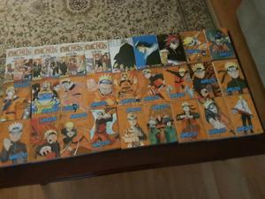 Mangas Naruto, Bleach et One piece